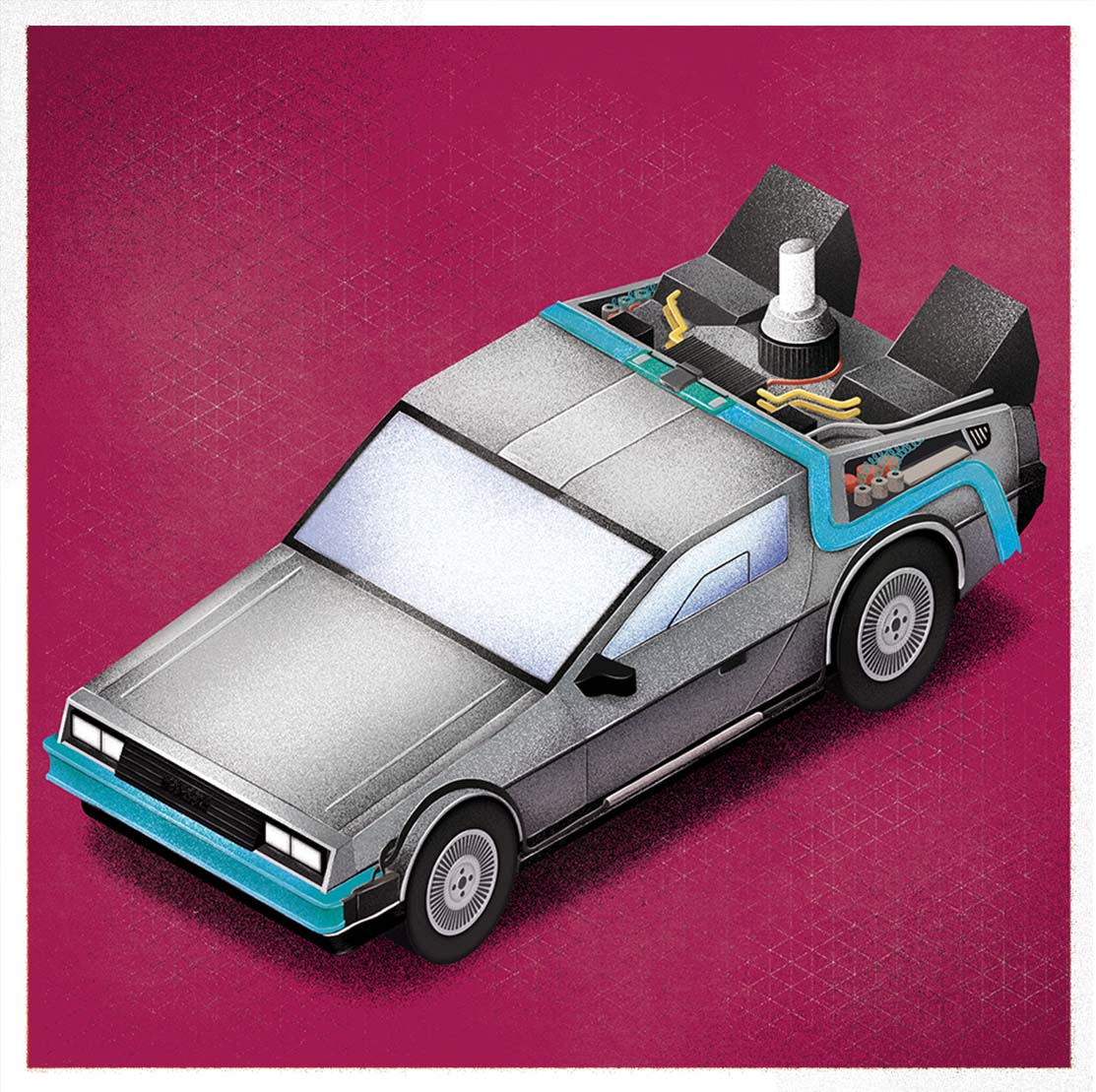 Delorean Regreso al futuro Back to the Future