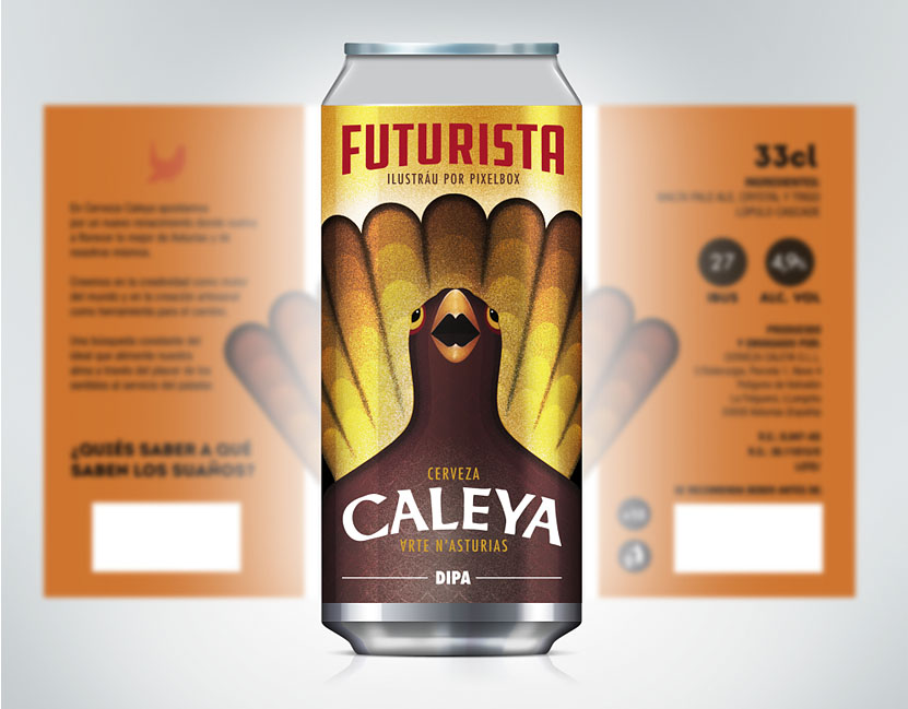 Pixelbox Caleya Craft Beer Asturias