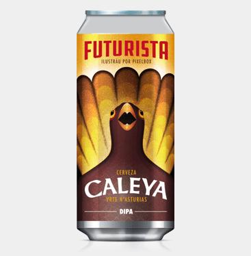 CERVEZA CALEYA FUTURISTA